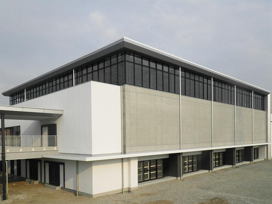余戸中学校屋内運動場移転新築工事